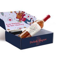 custom holiday wine boxes