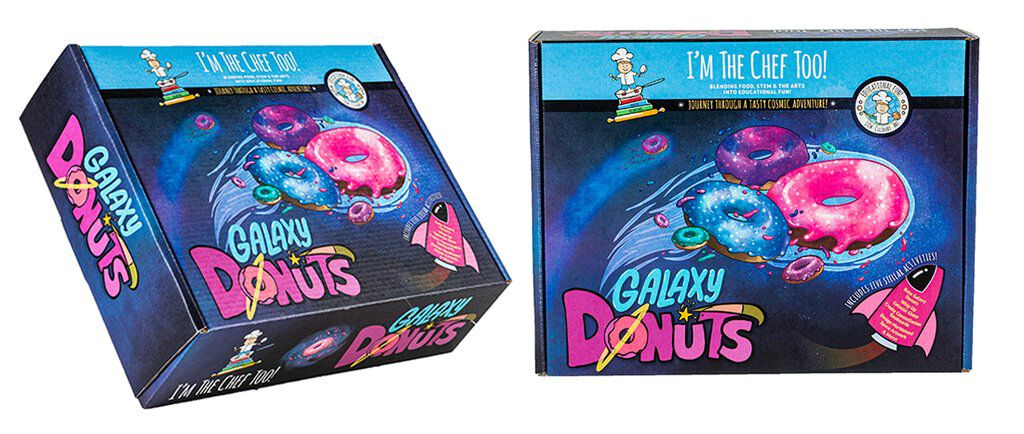 Galaxy Donut by Im The Chef Too subscription box