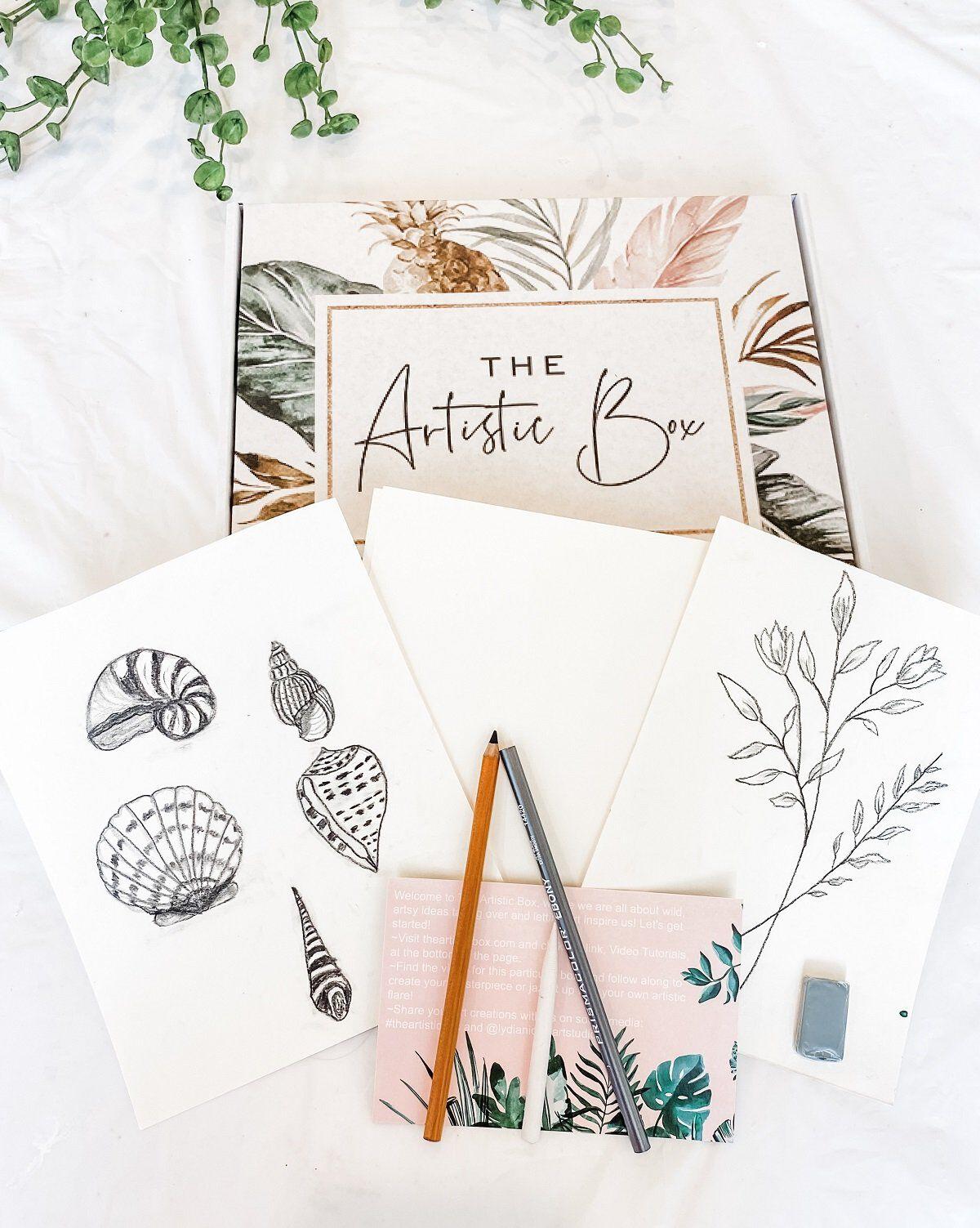 the artistic box