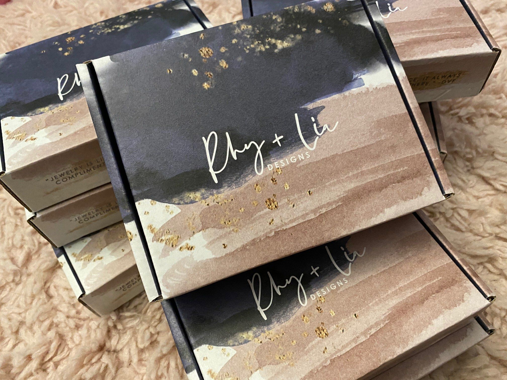 Rhy &Lia Jewelry Boxes