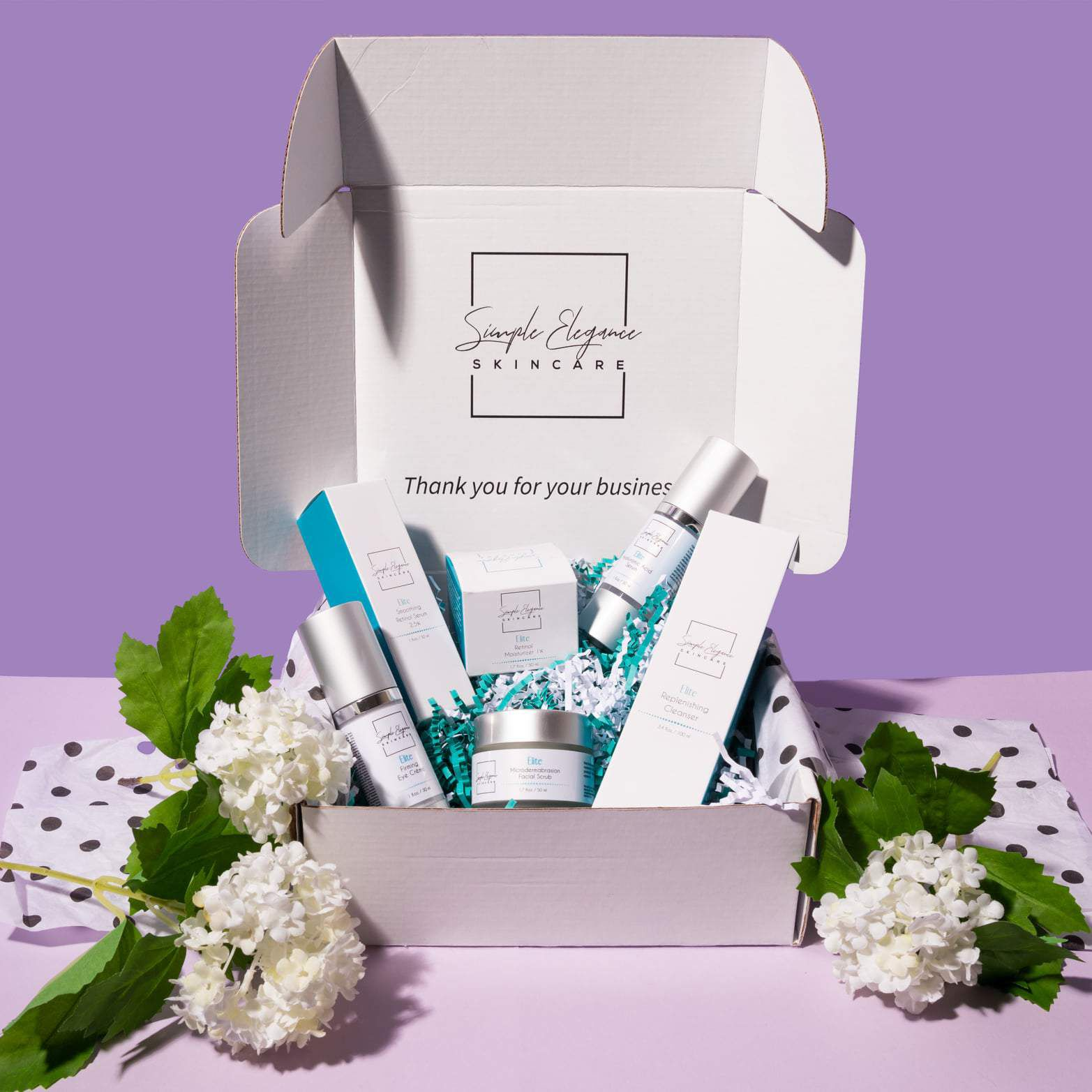 simple elegance skin care boxes